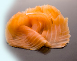 Cold Oak Smoked Salmon from the Isle of Ewe Smokehouse