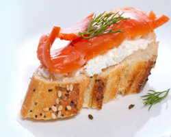 Traditional Cold Smoked Salmon from Cluny Fish