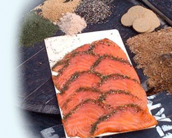 Traditional Gravadlax from Cluny Fish