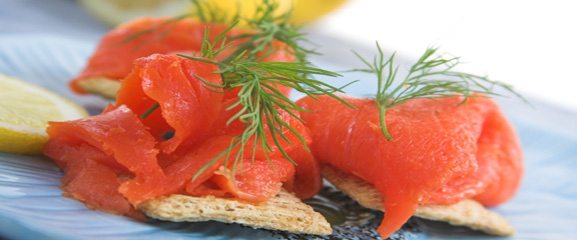 Peat Smoked Salmon