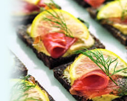 Gravadlax from the Inverawe Smokehouse