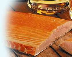 Bradon Rost, Hot Smoked Salmon from the Loch Fyne Smokehouse