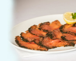 Dill Cured Salmon from Summer Isles Foods (Gravadlax)