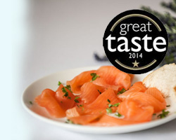 Peat Smoked Salmon from Summer Isles Foods