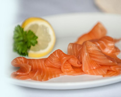 Sweet Cure Cold Smoked Salmon from Summer Isles Foods